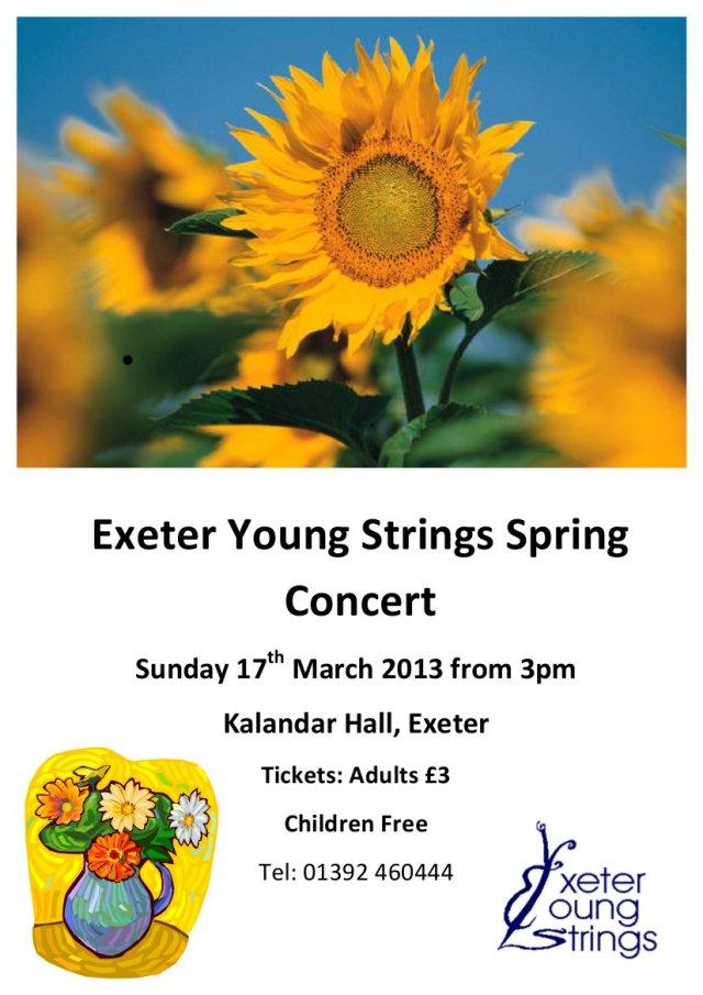 EYS spring concert