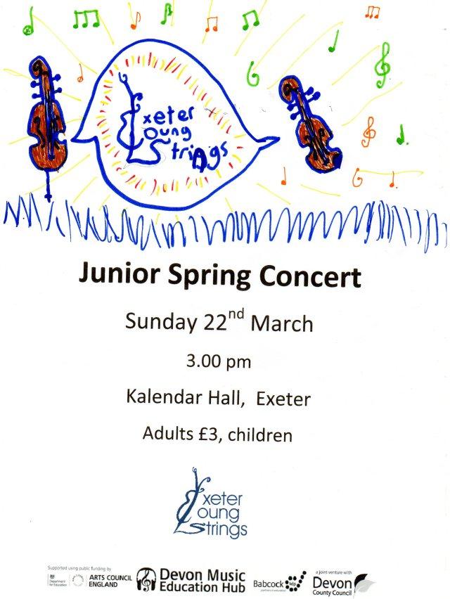 Katie's concert poster spring 15